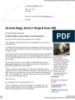 In Iron Lung, Lawyer Forged Iron Will