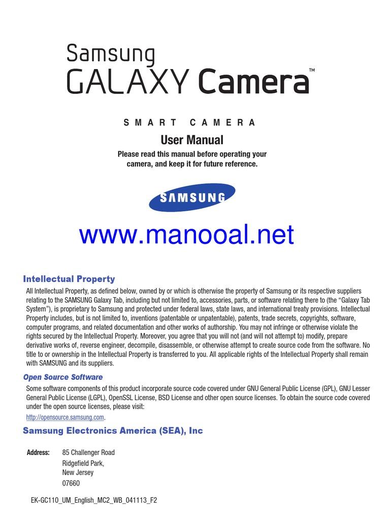 Samsung Galaxy Camera Wifi User Manual English   Gmail   Exposure  (Photography)