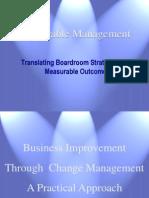 Web Measurable Management