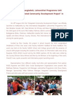 """Integrated Community Development Project"" in Hatibandha has launched"