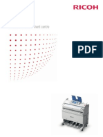 Midshire Business Systems - Ricoh MP W2401 / MP W3601 - Wide Format Mono Printer A0 Brochure
