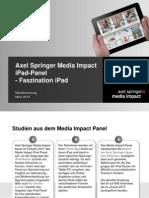 Media Impact Panel - Faszination iPad