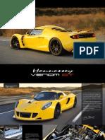 2013  Hennessey VenomGT  supercar Brochure