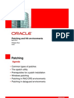 PatchingOracle Database Patching