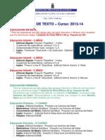 Lista de Libros 2013-14