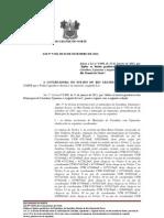 LEI N 9.768  Define os limites geodésicos dos Municípios de Caraúbas, Upanema e Augusto Severo
