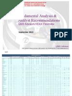 Fundamental Equity Analysis - QMS Advisors HDAX FlexIndex 110