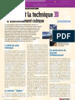 1-DirectX Et La Technique 3D