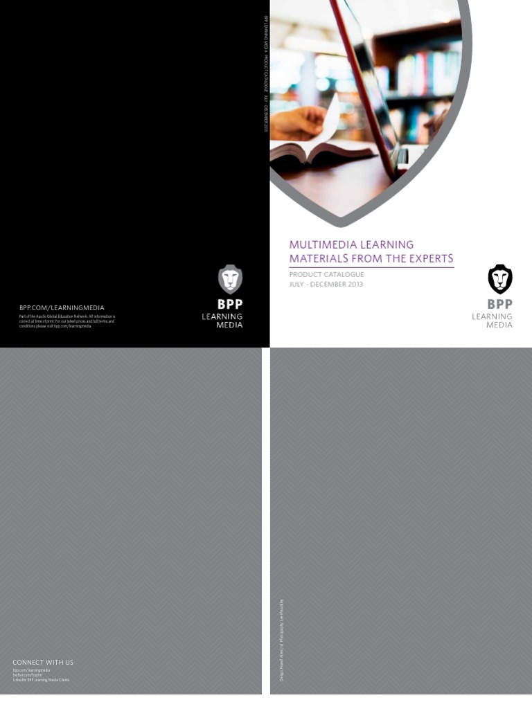 bpp learning media catalogue july dec 2013 internal audit test
