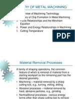 Theory of Metal Machining