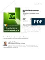 Introduccion a Dreamweaver Cs6