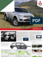 2014 Mitsubishi Challenger (Pajero Sport) Brochure