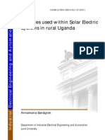 Batteries Used Within Solar Electric System