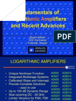 Logarithmic Amplifiers