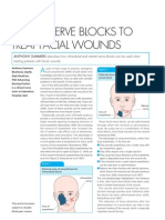 Using Nerve Blocks to Treat Facial Wounds