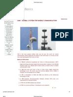 GSM Network Basics