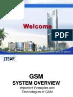 01) GSM System Survey