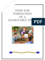33 Steps for Formation of a Charitable Trust