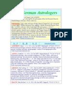 150 German Astrologers