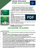 Holograme Pentru Alergii
