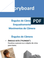 Angulos Enquadramento e Movimentos de Camera