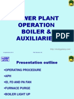 Boiler Aux Operation PMI