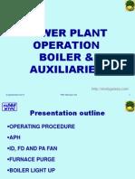 Boiler Aux Operation PMI