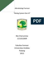 Sistem Identifikasi Biolog