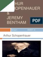 Arthur Schopenhauer and Jeremy Bentham