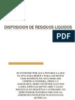 Disposicion de Residuos Liquidos Ok