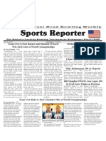 September 4 - 10, 2013 Sports Reporter