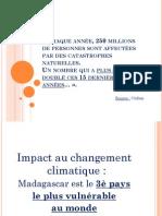 Impact au changement climatique
