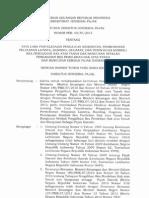 PER - 05.PJ.2013 Tg Tata Cara Penyelesaian Pengajuan Keberatan BPHTB