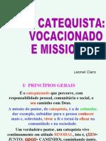 O Catequista animador vocacional e missionário