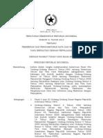Pp 31 2012 Pemberian Dan Penghimpunan Data Dan Informasi