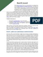 Basel II Accord