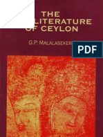 91538139 the Pali Literature of Ceylon