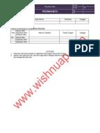 Contoh Form Audit Supplier