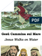 Gesù Cammina sul Mare - Jesus Walks on Water