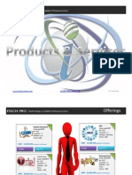 ITP Offerings Products