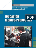 Orientac Mettodol Para La Pract Pre Prof ETP