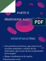 PROTOZOOS  SANGUÍNEOS Y  TISULARES
