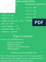 2. Cement Composition and Special Cements - Part 2