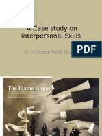 a case study on interpersonal skills