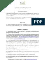 Regulamento da Feira da Liquidação Total