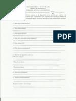Examen de Diagnostico, Tecnologia y Enfasis en Informatica