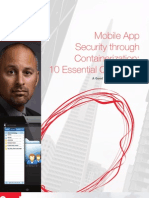 10 Essential Questions to Ask about Mobile Security and Containerization