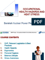 Occupational Health Hazhard-dr.darwin Bulatao
