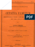 Vasile Pârvan, Cetatea Ulmetum.