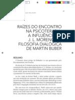 A INFLUÊNCIA DE JLMORENO NA FILOSOFIA DIALÓGICA DE MARTN BUBER
